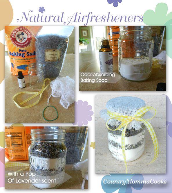 Homemade Natural Air-fresheners