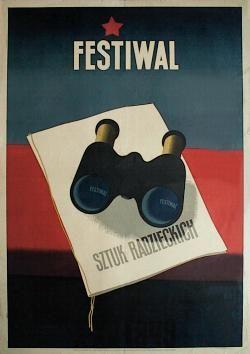 designer: Trepkowski Tadeusz poster title: Festiwal sztuk radzieckich year of poster: 1949