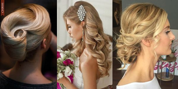 Gorgeous hair ideas for formal occasions! Υπέροχα νυφικά χτενίσματα σε ξανθά μαλλιά!
