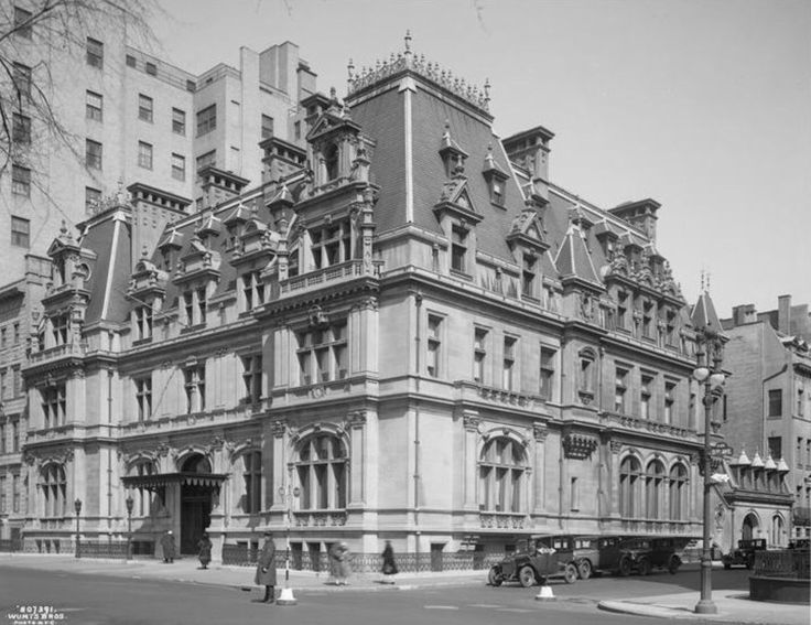 NYC Gilded Age Mansions