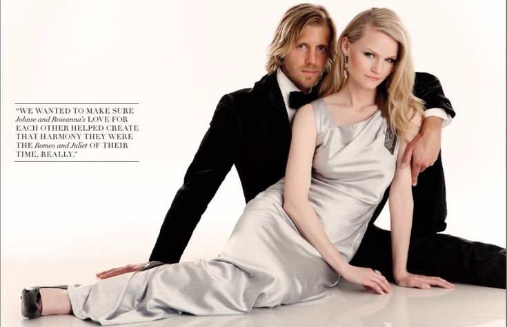 Matt Barr and Lindsay Pulsipher (Johnse Hatfield and Roseanna McCoy in Hatfields & McCoys)