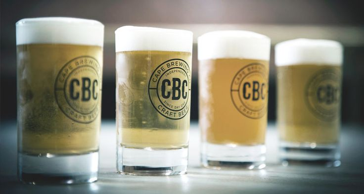 Beer tasting at the Cape Brewing Company