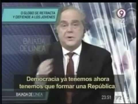 Para Além do Cérebro: A Golpista Rede Globo vira alvo de piada na impren...