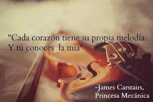 〽️Cada corazón tiene su propia melodía. Y tú conoces la mía.