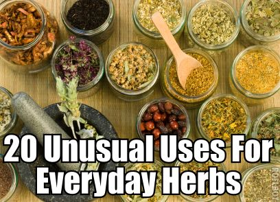 20 Unusual Uses For Everyday Herbs