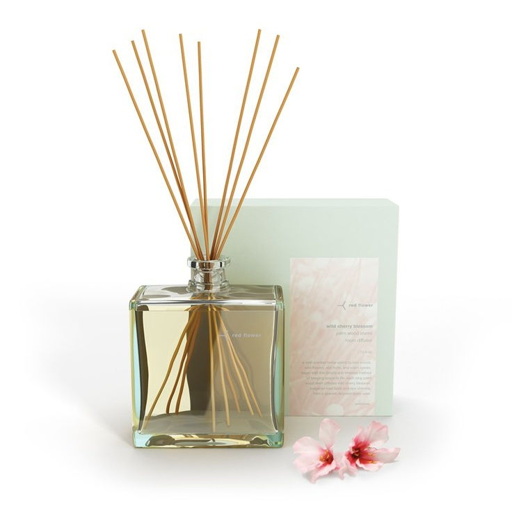 cherry blossom intensely-scented organic room diffuser