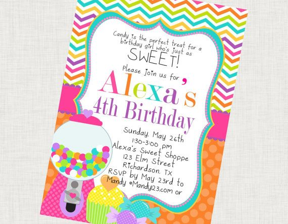 DIY Printable Sweet Shoppe Birthday Party by paperfrostingdesigns 15.00