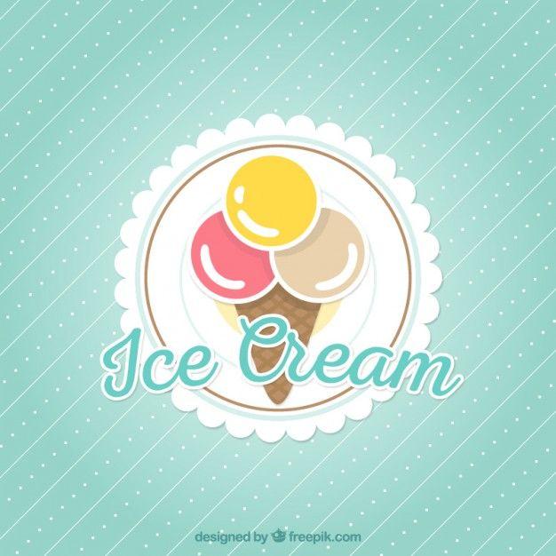 Free vector Ice cream background #17197