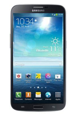Mobile nu Samsung GALAXY MEGA NOIR prix promo Darty 499,00 € TTC