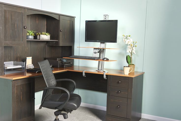 Height Adjustable Work Station | Ergonomic Computer Workstation
