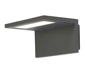 Aplique de exterior led Ele - gris oscuro