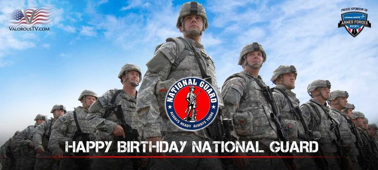 RT DeptofDefense Happy birthday to the National Guard