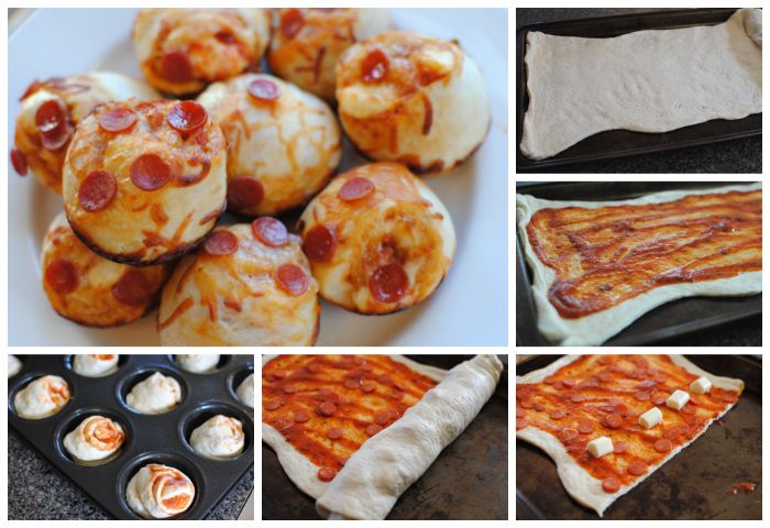 Pizza Roll Muffins-- A delicious and FAST dinner idea. I'd love to spend 2 hours every evening creating an amazing gourmet dish but some nights you just need quick and yummy