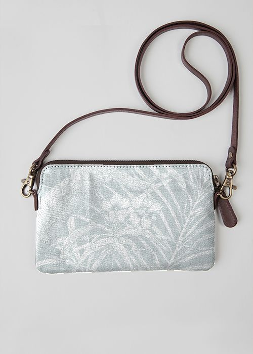 VIDA Leather Statement Clutch - Twisted Vines Clutch by VIDA aXAcw