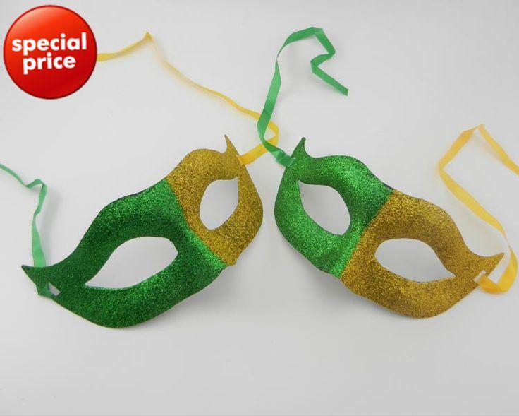 2014 Бразилия Вентиляторы Флаг маска карнавал Хип-Хоп танец костюм венецианский маскарад Партии маска новинка Chgristmas подарок бесплатная доставка