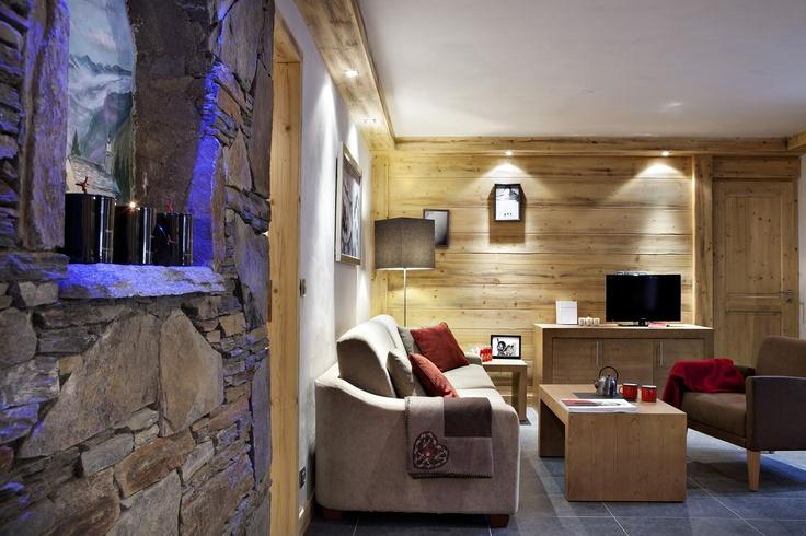 Les Chalets d'Angele (Living Area) - Chatel