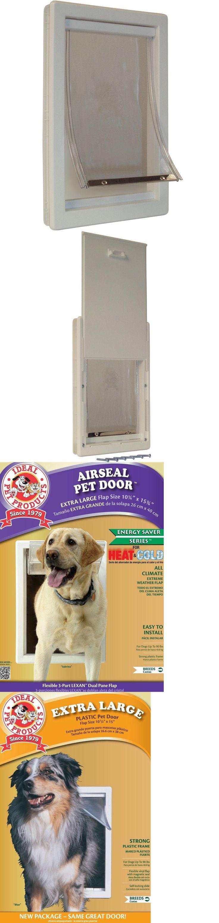 Ms de 25 ideas increbles sobre dog door flaps en pinterest doors and flaps 116379 dog patio door cat doggie pet gate wall hole flap medium eventelaan Image collections