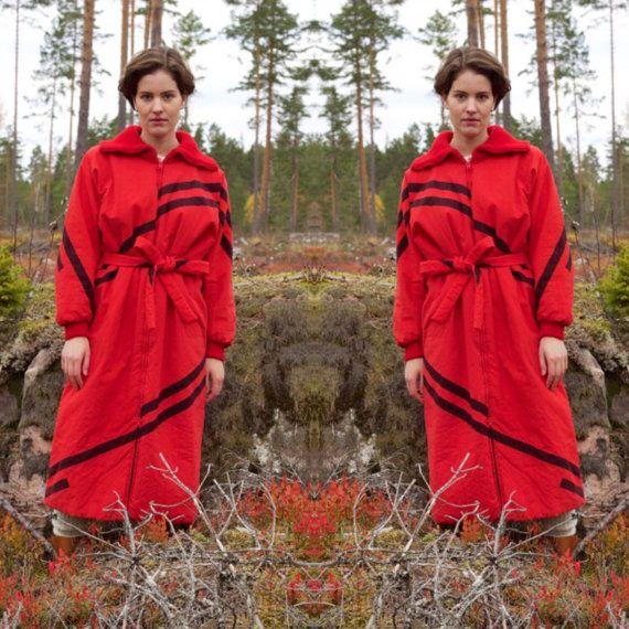 Vuokko Nurmesniemi Marimekko winter coat by AuroraNordicVintage