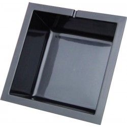 Polyester vijverbak vierkant - 70 x 70 x 30 cm - 110 liter  #vijvershop #vijvers #vijverbak