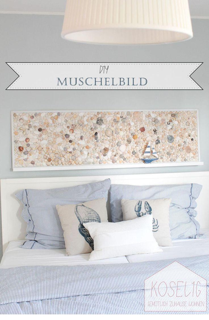 DIY Muschelbild