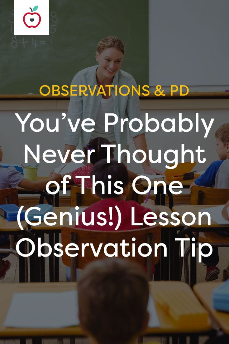 """Why create gimmicky, """"dog-and-pony show"""" lesson plans for formal observations when you're already using best practices every day? Be confident in your abilities and let your observed lessons reflect what you really do. This tip can help!"""