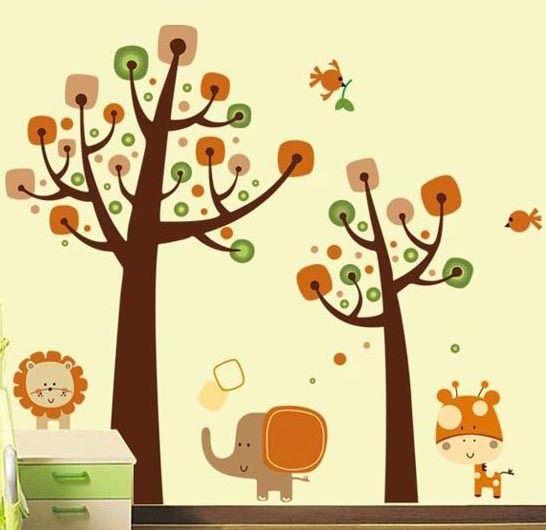 17 migliori idee su casa sull 39 albero bambini su pinterest - Decorazioni murali bambini ...