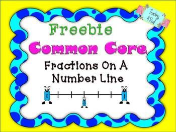 Here's a set of materials for plotting fractions on a number line.