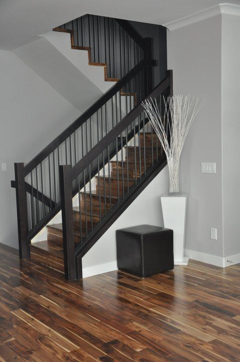 the natural beauty and character of hardwood - Wall Railings Designs