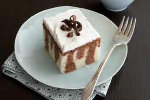 Chocolate Tres Leches Cake- I've made this several times and is always a hit. Easy to make. Light and moist- almost refreshing when you eat it.