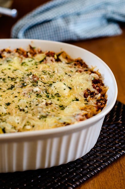 Italian Zucchini Quinoa Casserole - Cooking Quinoa (with vegan options)