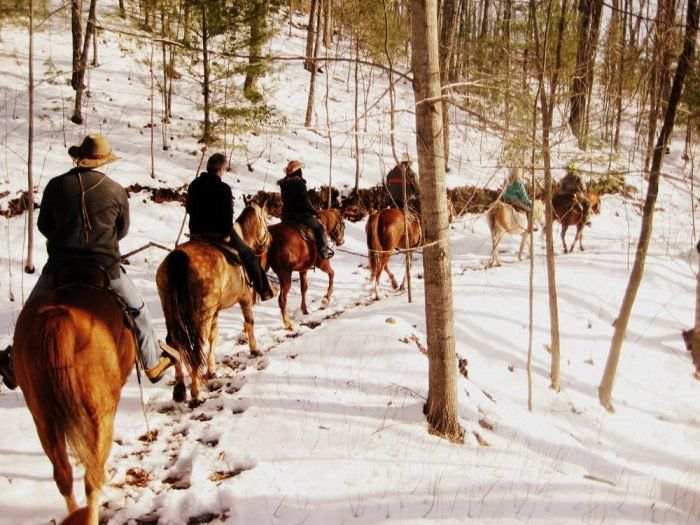 The Winter Horseback Riding Trail In Georgia That's Pure Magic