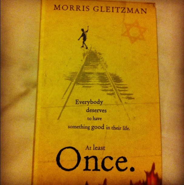 'Once' by Morris Gleitzman follows the tale of Felix, a young Jewish boy, as he stays in a Catholic orphanage during WW2.  Felix's parents have placed him here so that he would avoid going to a concentration camp. One day, Felix decides to escape the orphanage... This book would be useful during a WW2 topic where the children could write their own diaries, or they could write how they think the book could alternatively end.