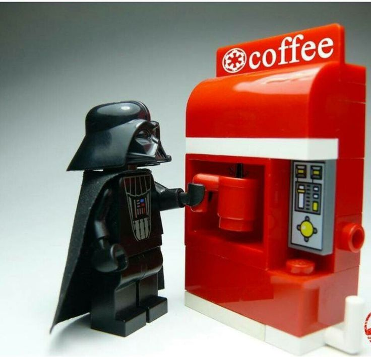 Vader and coffee