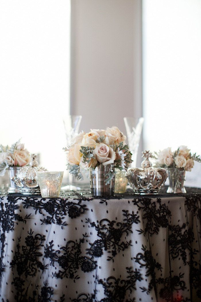 Make Your Bridal Table (or Perhaps Even Your Cake Table) Take Centre Stage  With