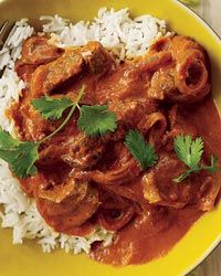 always looking for new recipes for lamb shoulder... Lamb Rogan Josh from Food & Wine