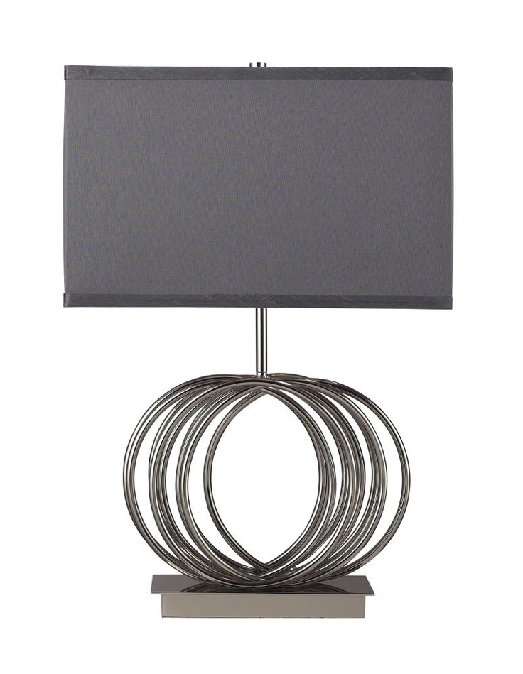 Design Lighting in Surrey, British Columbia, Canada, Dimond D2057, One Light Chrome Table Lamp, Ekersall, Chrome