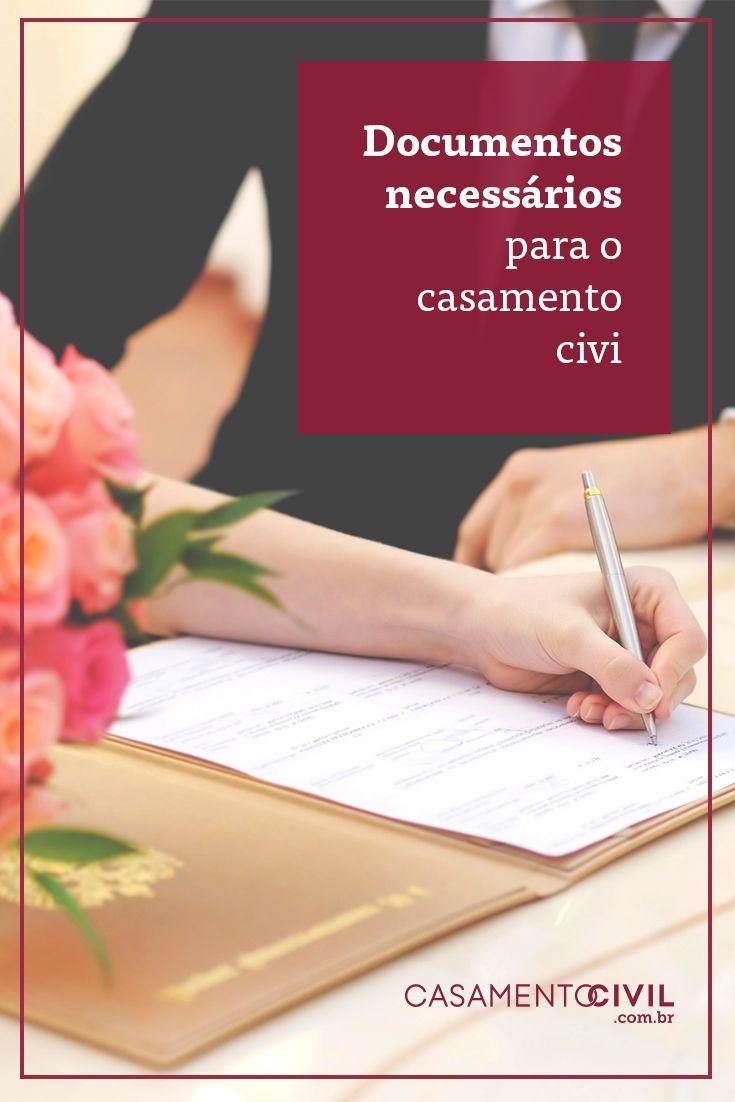 Vai dar entrada no casamento no cartório mas não sabe os documentos exigidos?! Aqui listamos os principais documentos necessários para o casamento civil.