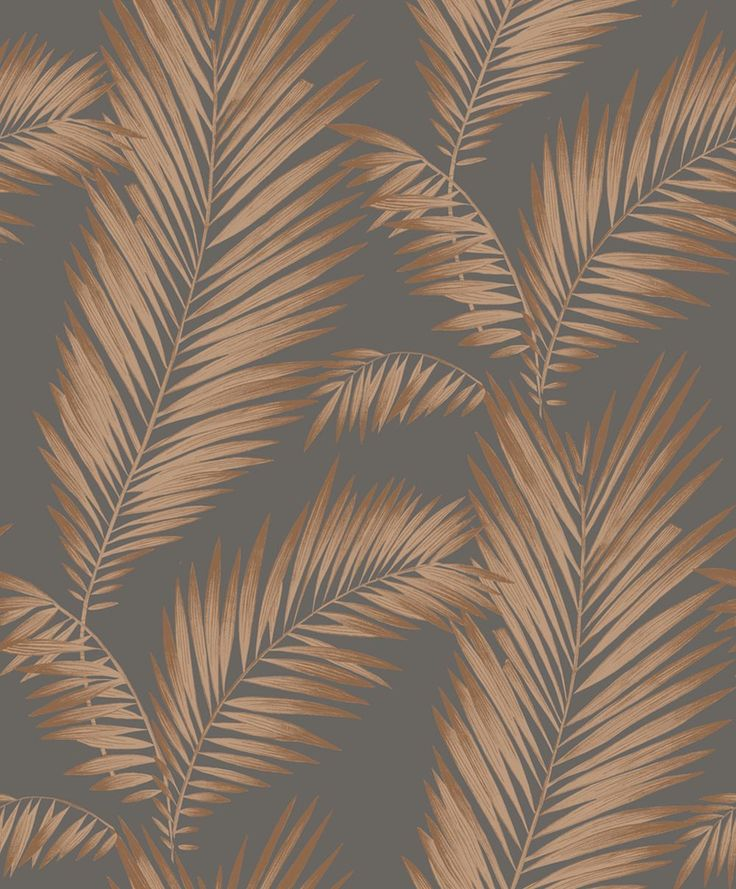 Ardita Ebony & Copper wallpaper by Arthouse