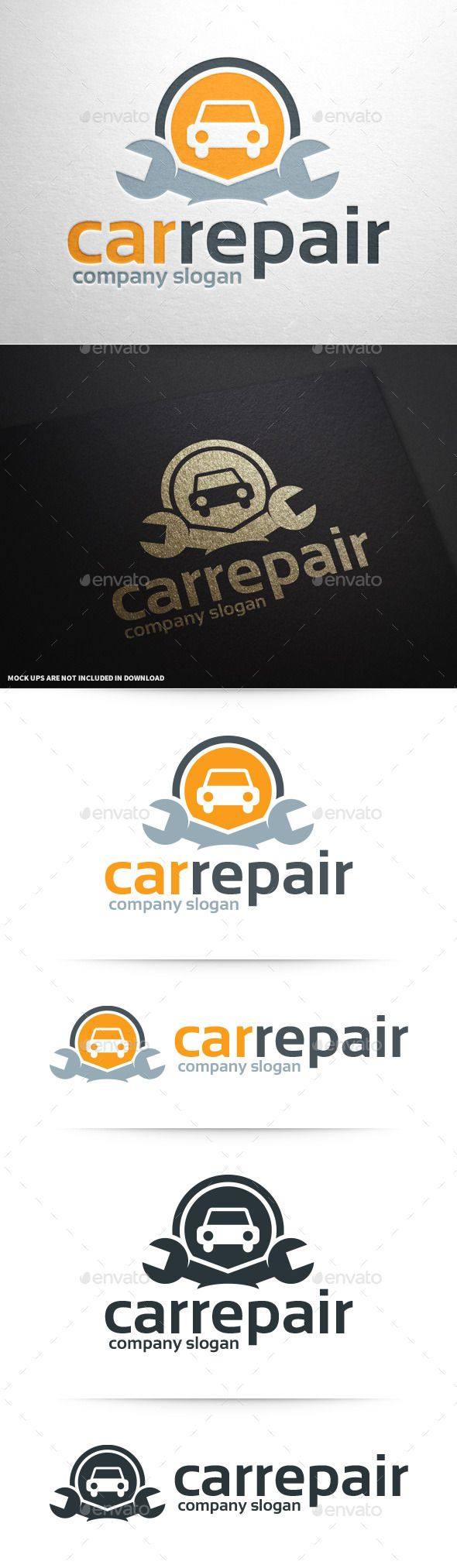 Car Repair Logo Template #vector #logodesign available for sale at #graphicriver