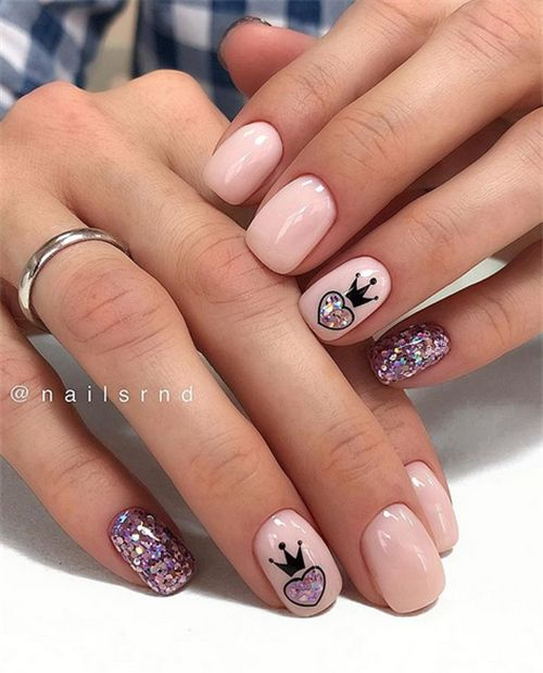 The Stunning Summer Nail Art Designs For Short Nails – Nail Art Connect#shortnai…