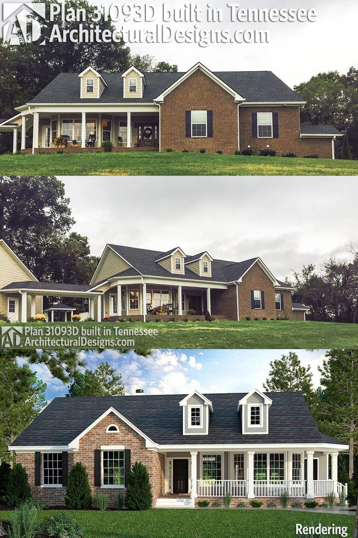 Plan 31093d Great Little Ranch House Plan Architectural