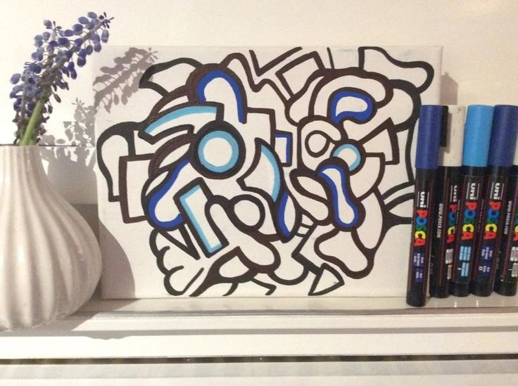 Work in progress😜#art #arte #posca #doodle #doodling #artist #design #abstractart #abstract #kunst #posca #poscaofficial #poscagallery #drawing #painting #sketch #bleu #artwork