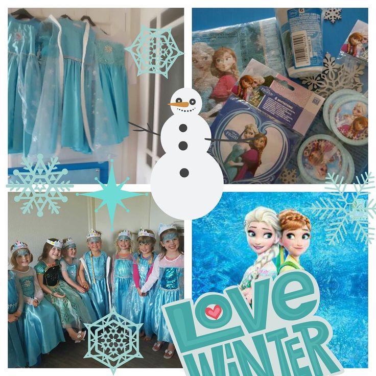 Verkleedkist Frozen voor een betoverd kinderfeestje.