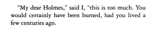 """A Scandal in Bohemia"", 1891."