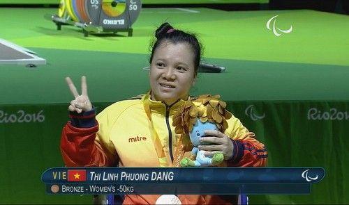 Đặng Thị Linh Phương phá kỷ lục cá nhân tại Rio Paralympic - Trung tâm thể thao tuổi trẻ