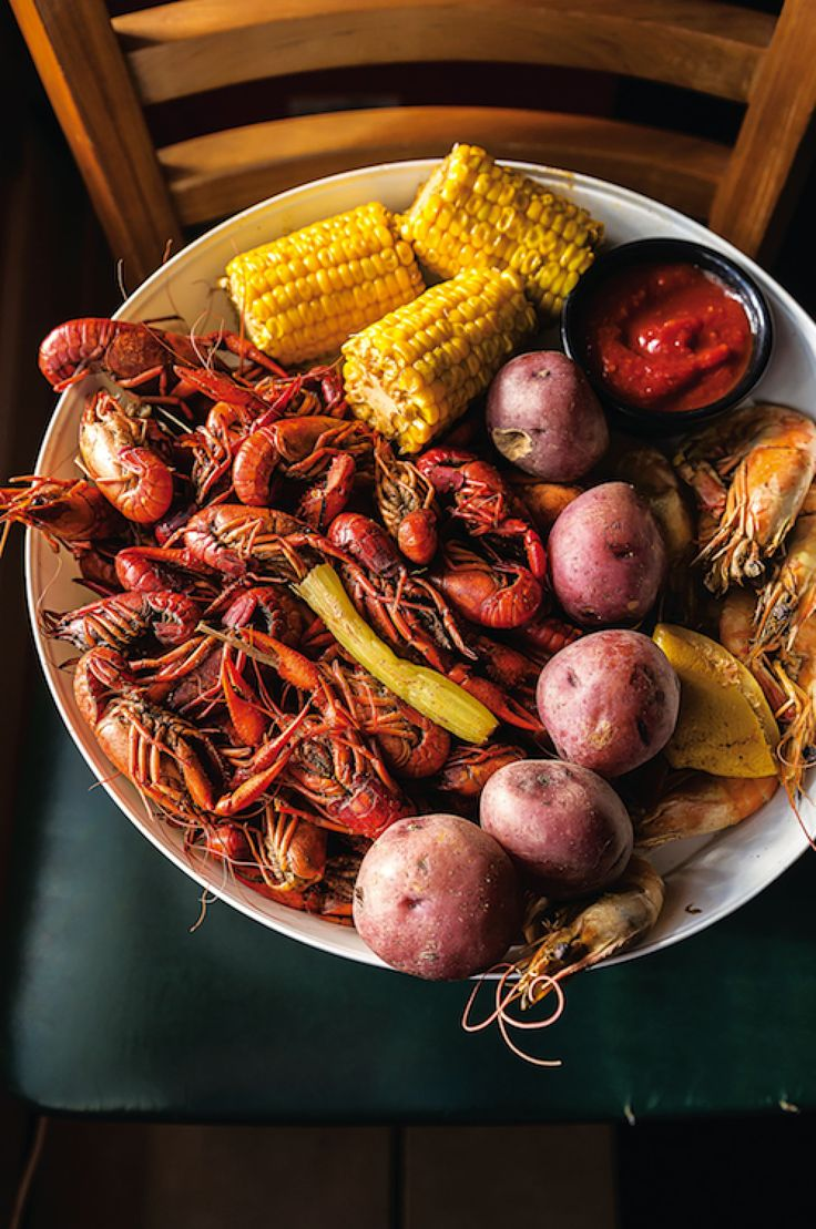 This spicy low-country boil is inspired by one served at Charlie's Seafood in Harahan, Louisiana.
