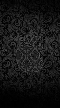 iPhone 7 Wallpapers Black and White Apple