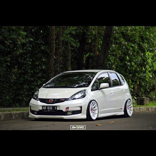 Honda Fit Modified Cars Jazz An Small Jdm Car Stuff Motorcycles Hatchbacks