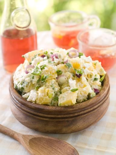 Salade froide aux pommes de terre : Recette de Salade froide aux pommes de terre - Marmiton