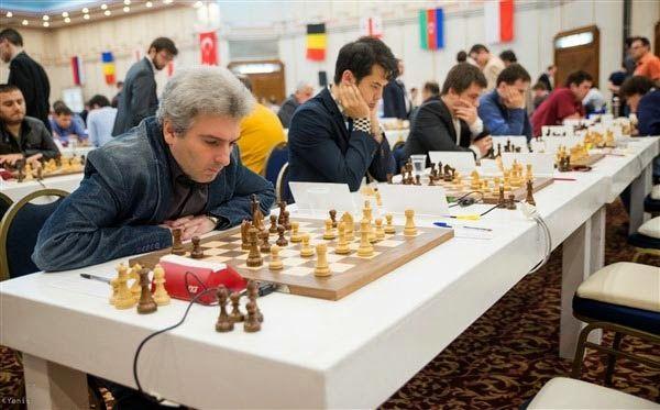 El Maestro armenio Gabriel Sargissian anotó 7.5 puntos en 11 partidos y ocupó el lugar 18 en el Campeonato de Ajedrez de hombres europeos individuales que terminó en Jerusalén, Israel, el 8 de marzo pasado.